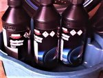 Radiator Coolant Type 2 Honda factory spec 1-1 premixed $20 a bottle..... and it's blue fluid ...jpg