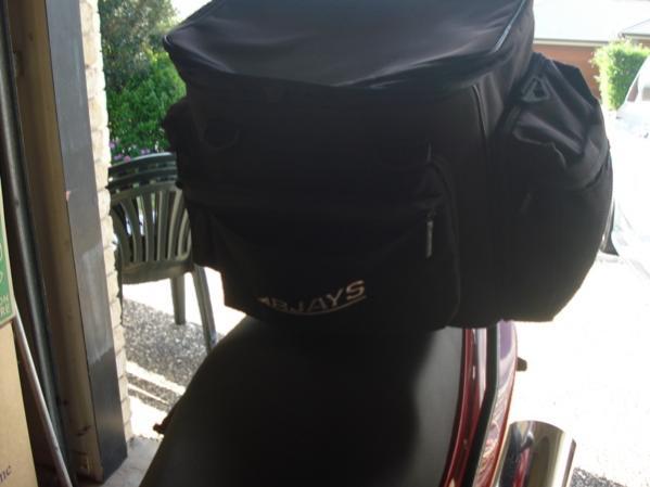 Rjays bag front